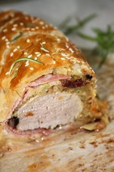 Pork Recipes, Recipies, Sandwiches, Pot Pie, Meatloaf, Paleo, Food And Drink, Healthy Eating, Beef