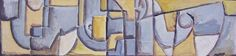 "Edwin Studer (Taller Torres García) ""Boceto para mural II"" Óleo sobre cartón 22 X 87 cms. Circa 1960  http://www.portondesanpedro.com/ver-producto.php?id=9189"