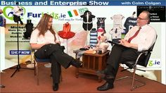 Michelle Ryan from www.ie talks to Colm on Business and Enterprise Gym, Business, Stuff To Buy, Store, Training, Business Illustration, Gymnastics Room