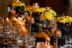 yellow and black weddings   Wedding Obsession – Canadian Wedding Inspiration Blog – Toronto ...