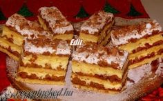 Hungarian Desserts, Hungarian Recipes, Bread Recipes, Cooking Recipes, Sweet And Salty, Sweet Bread, Dessert Recipes, Food And Drink, Cookies