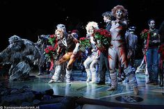 Cats the Musical - one of my favorites!!! A great mix of music/singing, storyline,  crazy physicality I've ever seen!!!