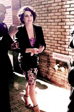 """Lana Parrilla leaving The """"Live with Kelly and Ryan"""" on May 4, 2017 in New York City"""