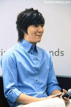 Lee MIn Ho in Singapore