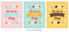 We can do hard things in 3 colors at kiki and company