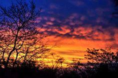 Sunset on Arran Land