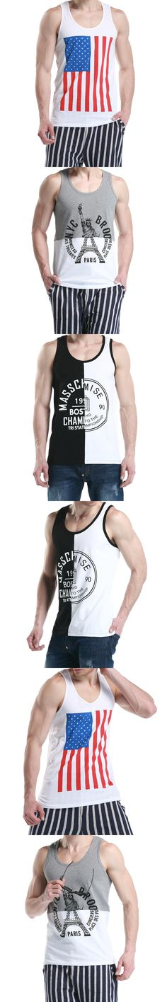 2015 Summer Men  Singlets Men Cotton Tank Tops  Bodybuilding colete & Recreation Men's Tank Top colete Clothes Vest