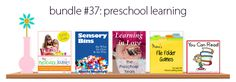 Did you get your Preschool eBook Bundle? 5 excellent eBooks for only $7.40 #homeschool #ihsnet