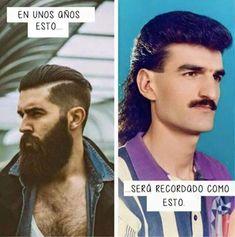 Así serán recordadas las barbas. #humor #risa #graciosas #chistosas #divertidas