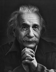 Albert Einstein 1948 by Yousuf Karsh by Karsh Nut, via Flickr