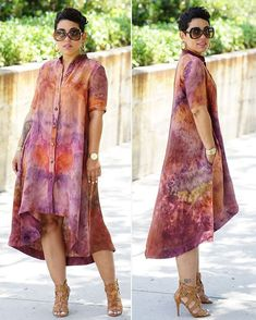Image may contain: 2 people African Attire, African Wear, African Women, African Shirt Dress, Blouse Dress, African Print Fashion, African Fashion Dresses, Shirt Dress Pattern, Tie Dye Fashion