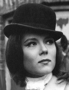 Diana Rigg as Mrs Emma Peel in 'The Avengers'