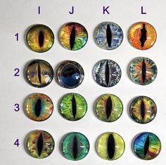 dragon eye cat Eye eyeballs needleminder 30mm  - needleminder pinminder needlecraft cabochon accessory by UnconventionalX on Etsy