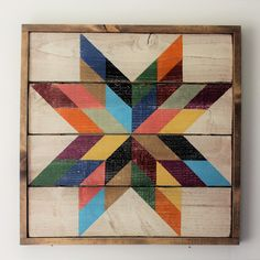 Barn Quilt Designs, Barn Quilt Patterns, Quilting Designs, Quilt Kits, Quilt Blocks, Painted Barn Quilts, Barn Art, Texas Star, Embroidery Kits