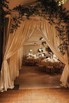 Elegant-Tent-Wedding-Entrance