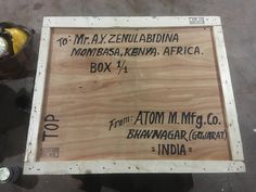 KENYA a country progressing Thank you for your repeat order Soap Making Machine for all http://atomgroups.trustpass.alibaba.com
