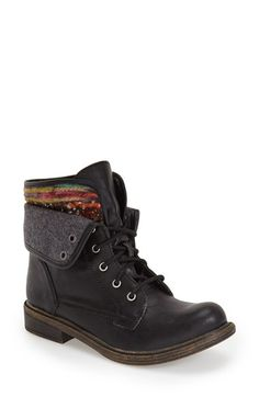 BP. 'Charlie' Foldover Cuff Bootie (Women) available at #Nordstrom
