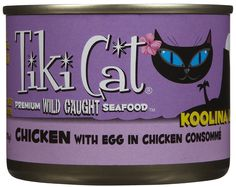 Tiki Cat Gourmet Whole Food 8-Pack Koolina Luau Succulent Chicken with Egg in Consomme  Pet Food *** Startling review available here  : Best Cat Food