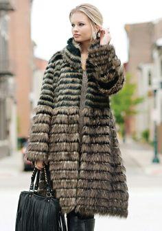 Boho faux fur ... stunning