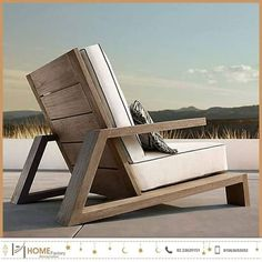 Have a Teak Lounge Chair - Dream Back Yard - Chair Design