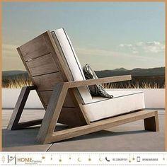 Have a Teak Lounge Chair - Dream Back Yard - Chair Design Diy Outdoor Furniture, Deck Furniture, Woodworking Furniture, Pallet Furniture, Furniture Projects, Furniture Plans, Outdoor Chairs, Modern Furniture, Furniture Design
