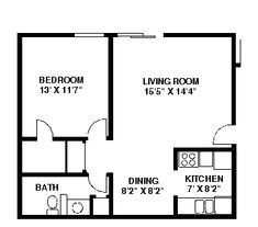 33 Floorplans Ideas Apartment Floor Plans Floor Plans Two Bedroom Apartments