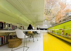 An office that doesn't leave you feeling trapped inside