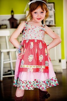 An all time fave: Homegrown Ginger Knot Dress #matildajaneclothing ||  image by Madison Ave Photography