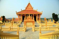 The Khmer temple in Hanoi