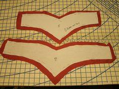 Making a belt base - /nwfirefly/bellydance-costumes/   206 BACK
