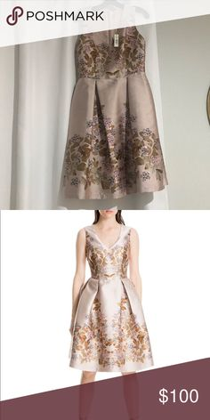 adee93ddbce Jacquard bell dress Brand new dress. The color is more of a blush pink.