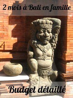Bali en famille : budget détaillé, bilan financier Bali avec des enfants : budget Travail nomade, école-maison, voyage au long cours www.lagrandederoute.com