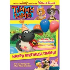 It's a Happy Birthday BAAA-sh with Timmy and his friends! Timmy cooks up a sweet solution after he almost spoils his party by eating the entire cake; Timmy and Finlay find out they can always count on each other to share toys! Yabba shows Timmy he's a model pal; Timmy's new pet seems to be the life of the party and Otus helps Timmy reach new heights. Don't be sheepish – join in the fun and celebrate with Timmy and his friends!