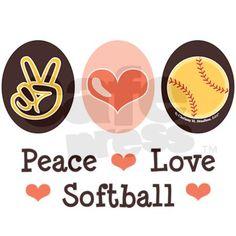 peace <3 love <3 softball