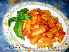 pasta pomodoro mozzarella