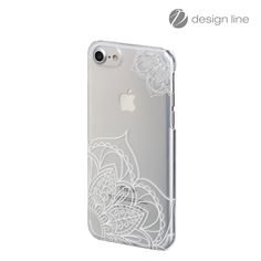 "hama.nl | 181136 Hama Cover ""Lotus"" voor Apple iPhone 6/6s/7, transparant/wit"