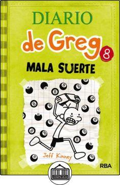 Diario de Greg 8: Mala suerte de JEFF KINNEY  ✿ Libros infantiles y juveniles - (De 3 a 6 años) ✿