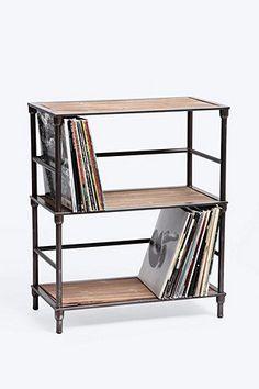 Schallplattenständer im Industrie-Look - Urban Outfitters
