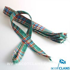 Clan MacFarlane Tartan Ribbon Strips