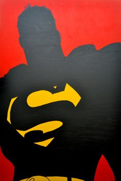 Superman. Will Try This With Batman, Joker, & Night Wing (Robin) and Maybe Other Cartoon Characters My Sibs & I like.