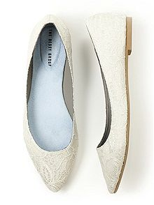 Adorable Bridal Party flats for dancing comfortably at the reception!  This site also has everything you could need for outfitting the entire bridal party