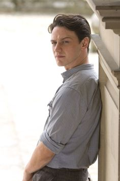 James McAvoy as Robbie Turner in Atonement