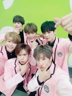 Yes Astro is the group that can pull off pink so well
