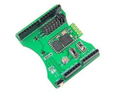 Stackable Bluetooth Shield for Arduino Freaduino Support Master/Slave Role Mode by Get. $19.90. *** Description:  The Bluetooth Shield integrates a Serial Bluetooth module BLK-MD-BC04-B. It can be easily used with Arduino for transparent wireless serial connection setup. You can choose two pins from Arduino D0 to D7 as Software Serial Ports to communicate with Bluetooth Shield (D0 and D1 is Hardware Serial Port).         Note:   The Shield may not be compatible with some Bl...