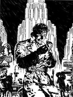 Chandler: The Night is My Mistress by Jim Steranko