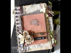 Vintage File Folder Mini Album with 7gypsies Gypsy Moments - party of Canvas Corp Brands | Scrap n' Art Online Magazine - Information. Inspiration. Education. Since 2008.