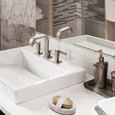 Mesa Para Lavabos Modernos.98 Mejores Imagenes De Banos En 2019 Banos Decoracion