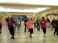 Uptown Funk Line Dance love the guy in the blue
