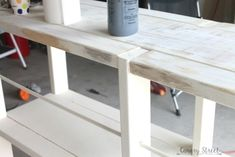Image of: diy rustic furniture side table rustic wooden entryway walnut coat rack entryway coat Build Your Own Shelves, Craft Room Tables, Rustic Side Table, Scandinavian Kitchen, Grey Kitchens, Home Decor Pictures, Rustic Shelves, Rustic Furniture, Free Plans