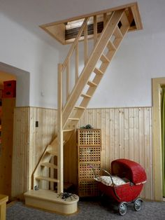 Awesome 90 Genius Loft Stair for Tiny House Ideas https://decoremodel.com/90-genius-loft-stair-tiny-house-ideas/